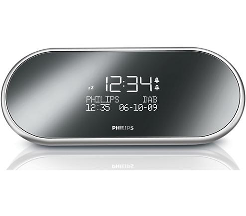 digital tuning clock radio ajb1002 79 philips. Black Bedroom Furniture Sets. Home Design Ideas