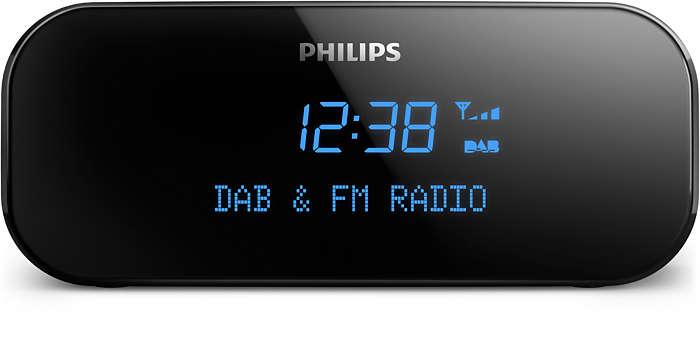 Wachen Sie auf mit kristallklarem, digitalem Radioempfang