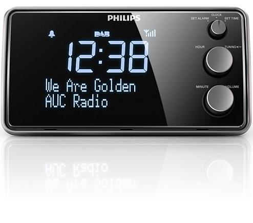 Radiowecker mit Digitalradio AJB3552/12 | Philips