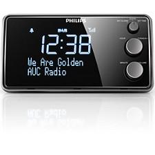 Radio cu ceas şi alarmă
