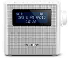 AJB4300W/12  Klokradio