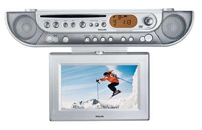 radio de cuisine avec minuterie ajl700/37 | philips