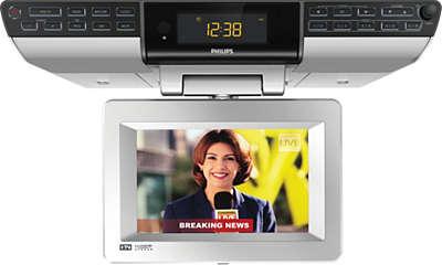 kitchen clock radio ajl750/37 | philips