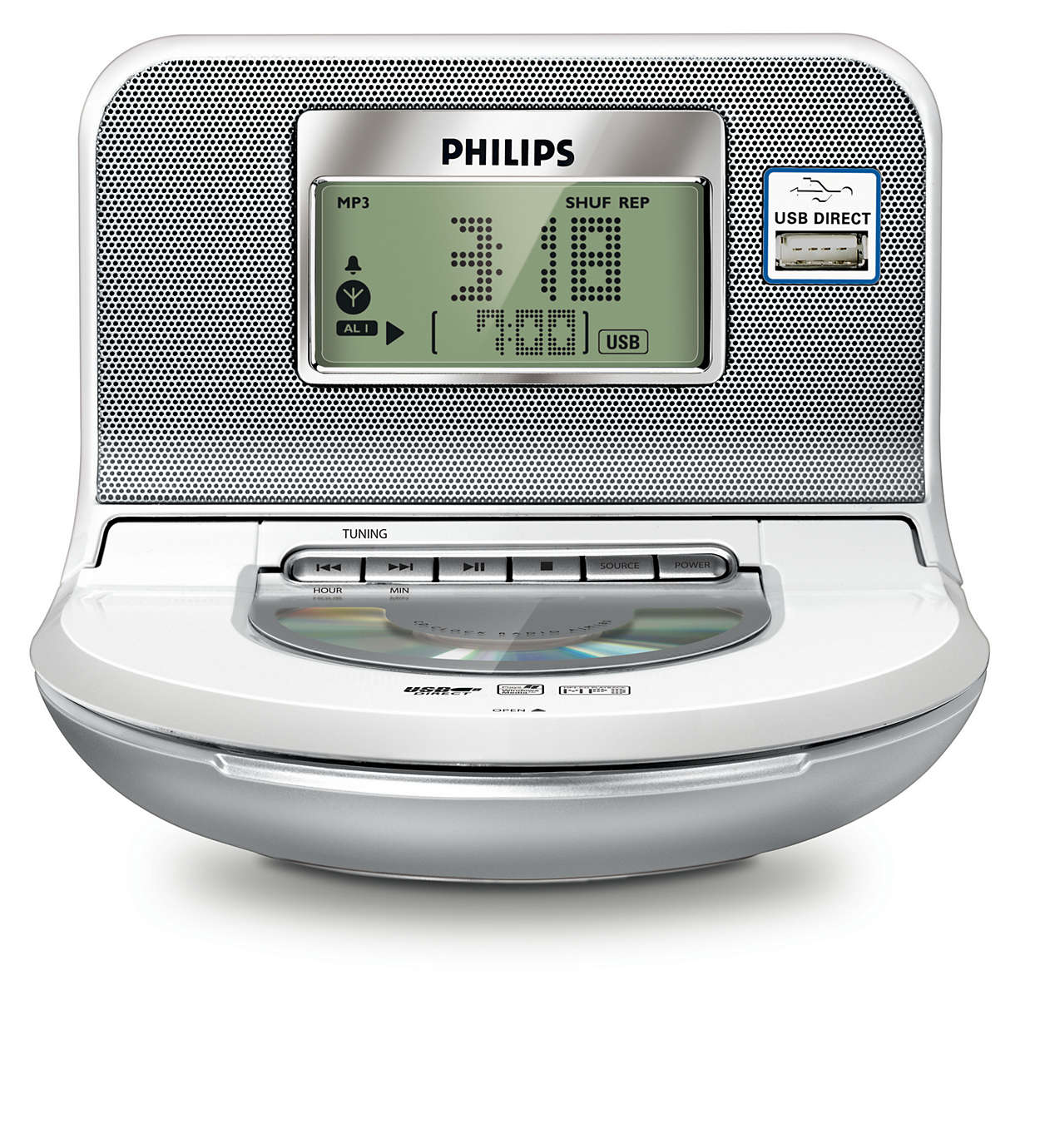 radio r veil ajm180 12 philips. Black Bedroom Furniture Sets. Home Design Ideas