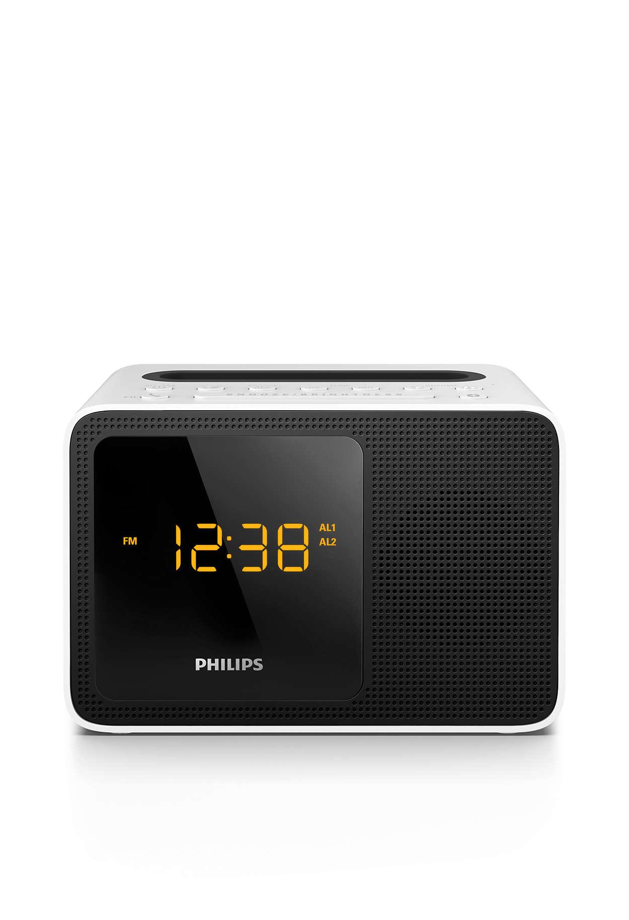 Clock Radio Ajt5300w 12 Philips Kit Digital Fm Display Frequensi Counter Untuk Tuner