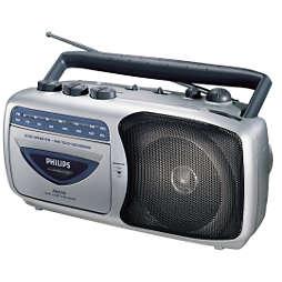 Ραδιοκασετόφωνο με δυνατότητα εγγραφής