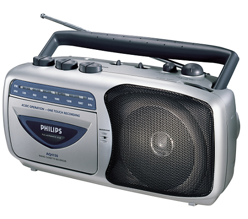 radio cassette recorder aq4150 00 philips. Black Bedroom Furniture Sets. Home Design Ideas