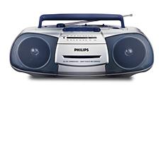 AQ5120/61 -    เครื่องเล่นวิทยุเทปคาสเซ็ต บันทึกได้