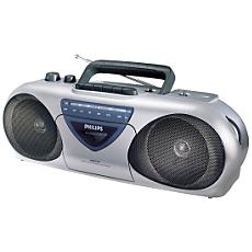 AQ5150/00  Radiocasetofon