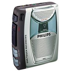 AQ6345/00 -    Rádio/grav. cassetes portátil