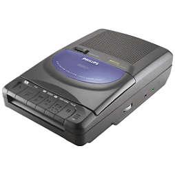 Radio/Registratore cassette portatile