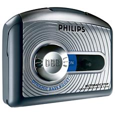 AQ6401/00C -    Portable Cassette Player