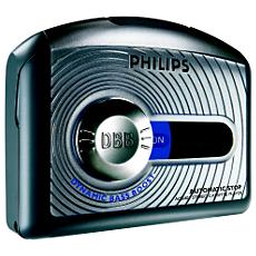 AQ6401/00Z  Leitor Portátil de Cassetes