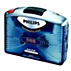 Philips Tragbarer Cassettenrecorder AQ6591