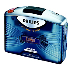 AQ6591/00  Portable Cassette Player