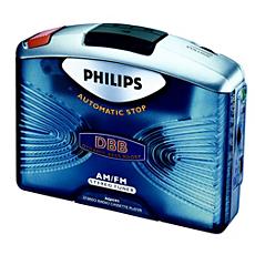 AQ6591/00  Draagbare cassettespeler