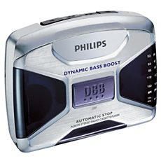 AQ6595/00C -    Riproduttore di cassette portatile