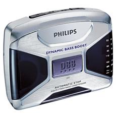 AQ6595/00C -    Портативный кассетный плеер