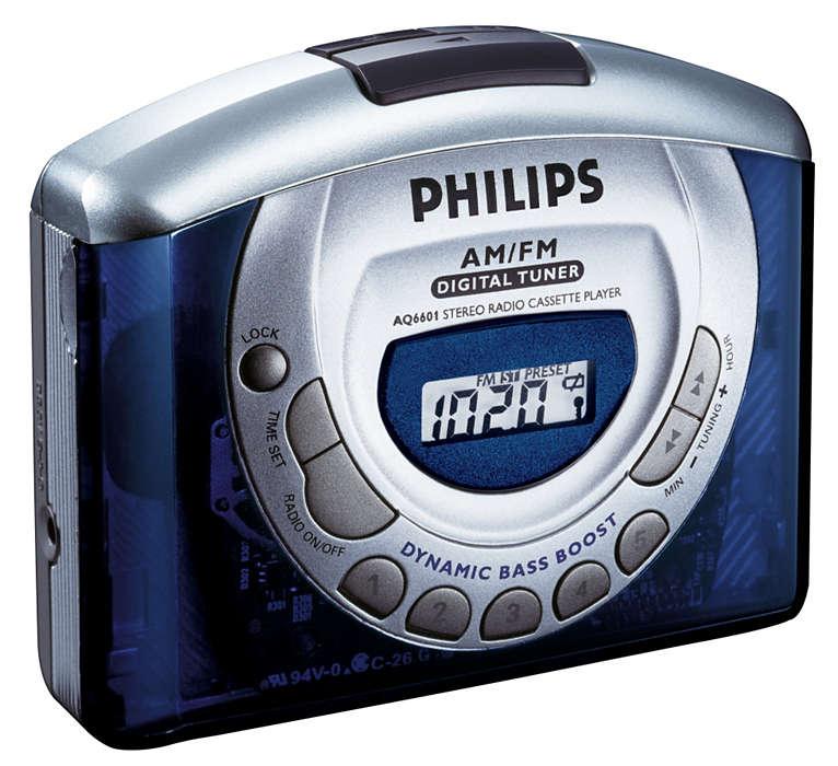 Digitální stereofonní rádio.