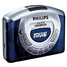 AQ6601/00C -    Riproduttore di cassette portatile
