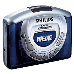 Draagbare cassettespeler