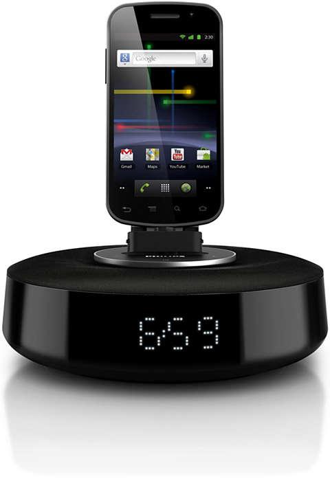音楽を楽しみながら Android フォンを充電
