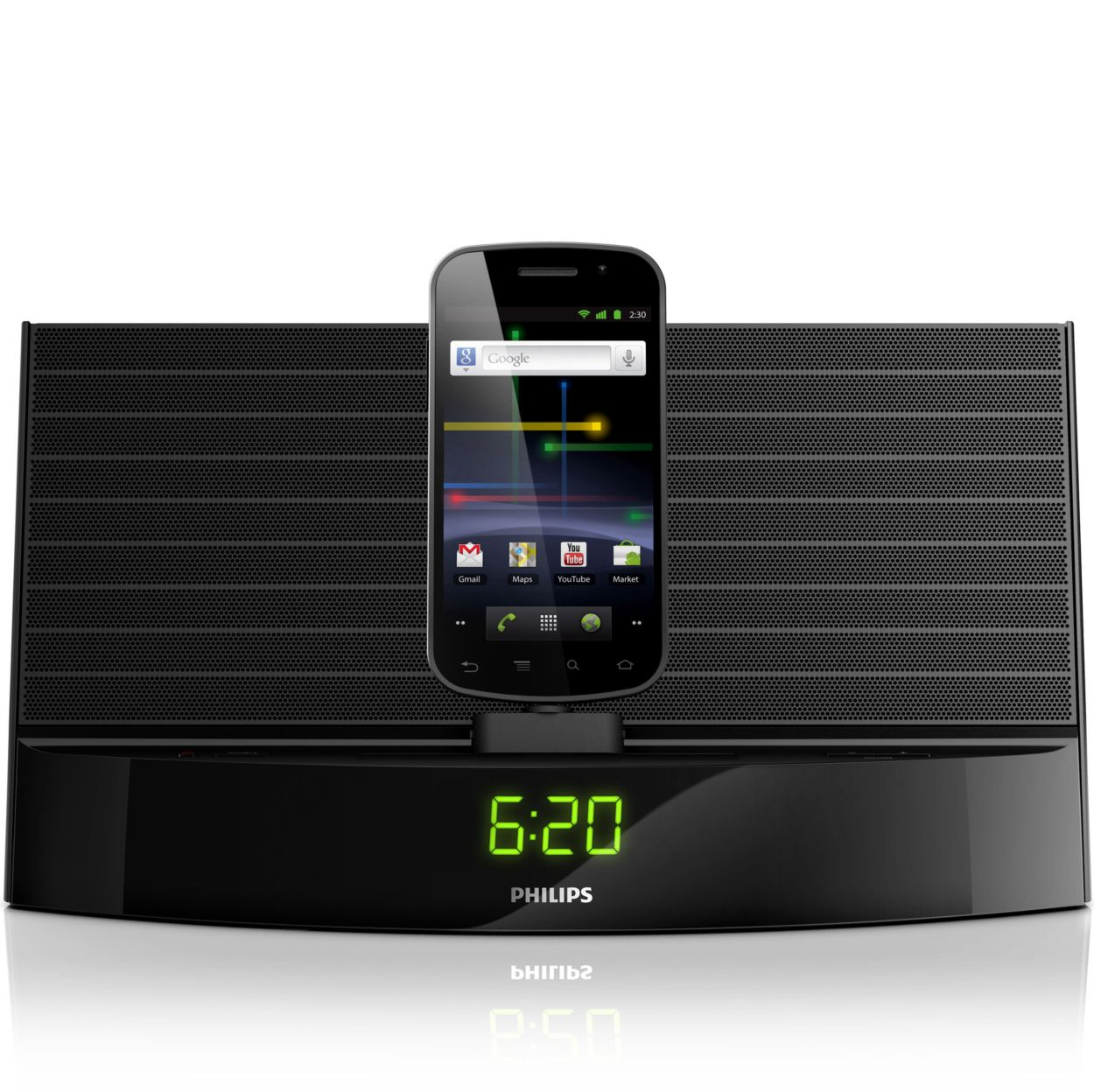 Phone Philips Android Phone docking speaker with as14105 philips free your music and charge android phone