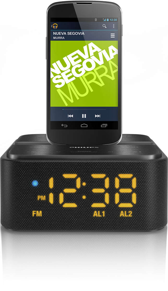 Transmita a sua música e carregue o seu telefone Android