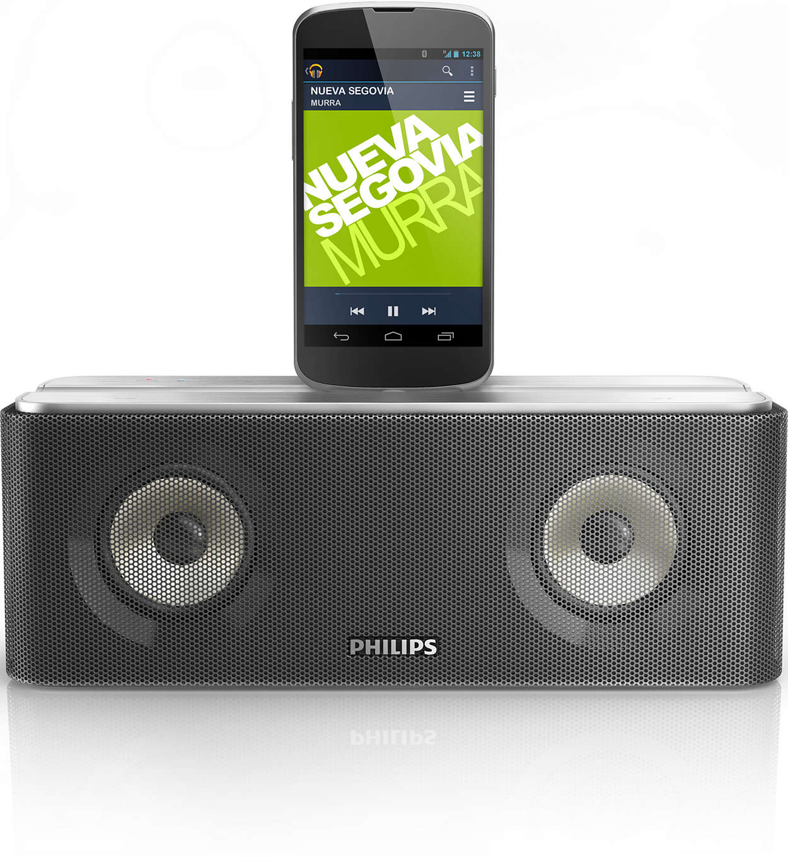 Transmite tu música y carga tu teléfono Android