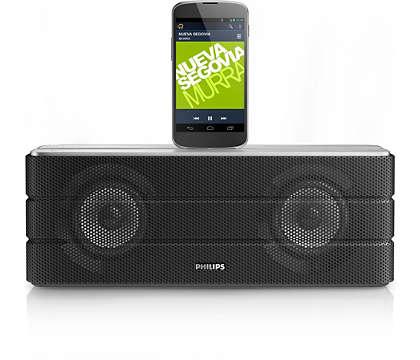 Stream musikken, og oplad din Android-telefon