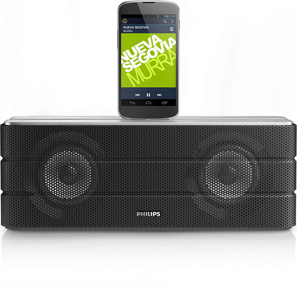 Stream your music and charge your Android phone
