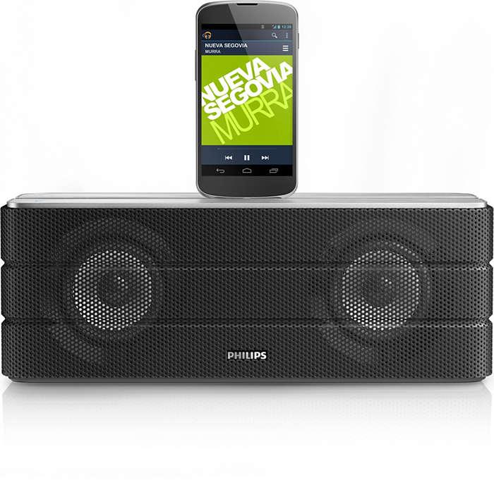 Libera la tua musica e carica il tuo telefono Android