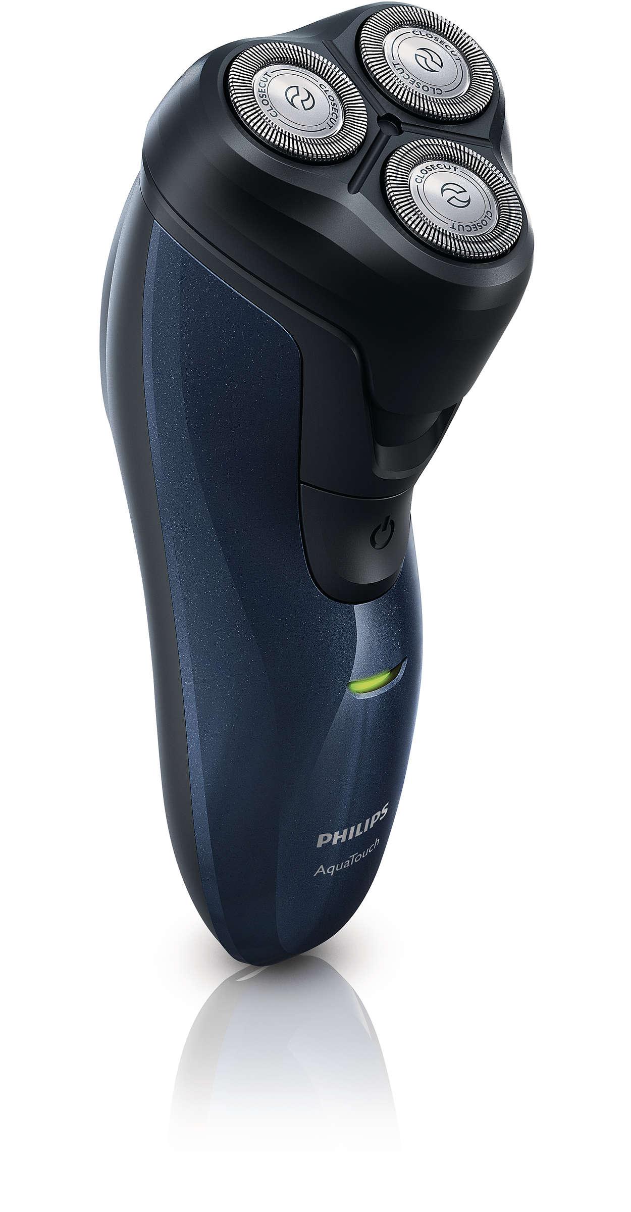 AquaTouch Afeitadora eléctrica de uso en seco y húmedo AT620 14 ... ebb7809a937d