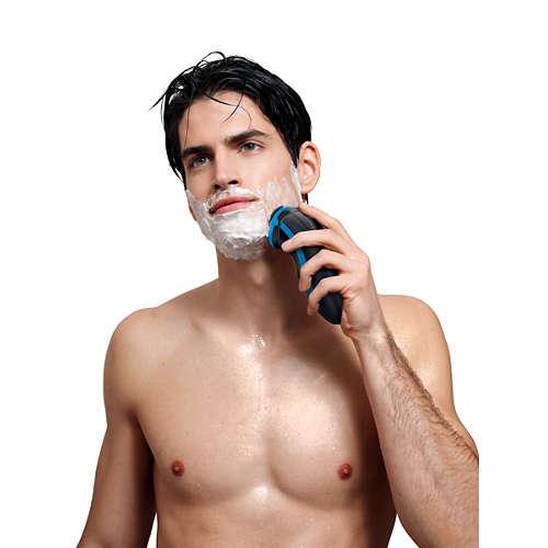 NIVEA AquaTouch Afeitadora eléctrica en seco y húmedo
