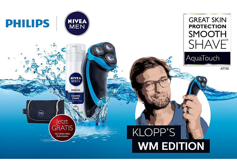 Hervorragender Schutz der Haut, sanfte Rasur