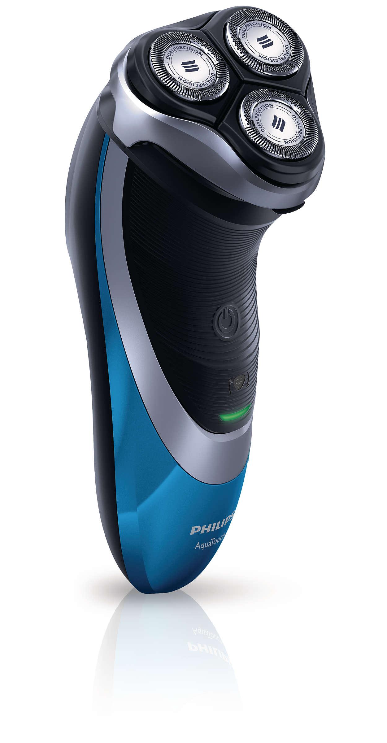Óptima protecção da pele, barbear suave