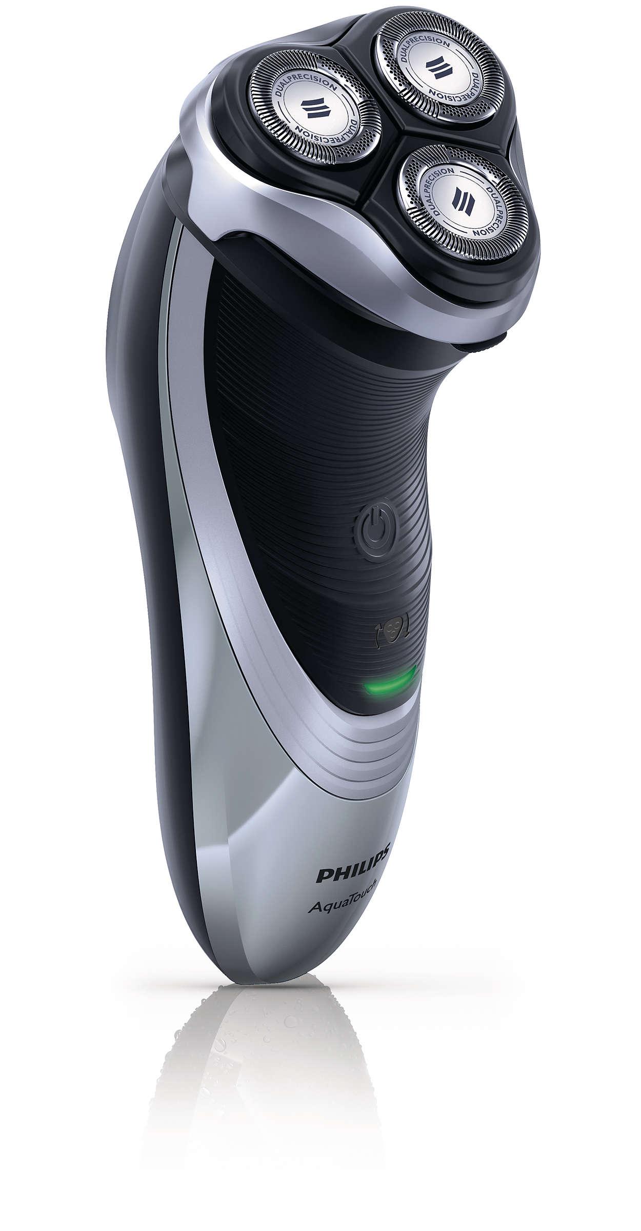 Svært god beskyttelse av huden, glatt barbering