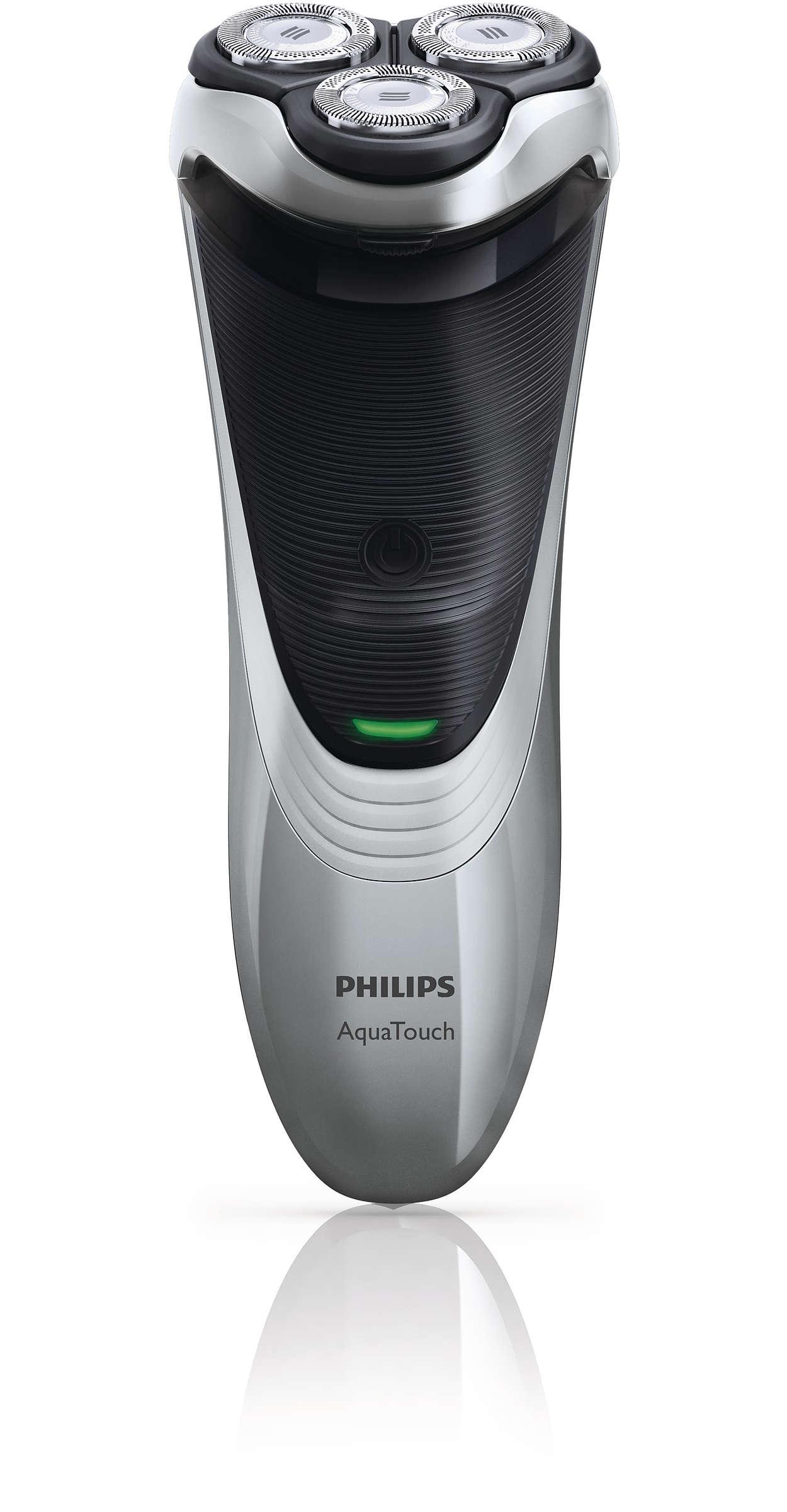 AquaTouch Afeitadora eléctrica para uso en seco y húmedo AT898 14 ... d4eee3ea99b4