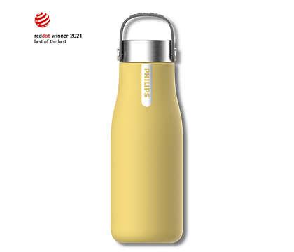 עבור לבקבוק טהור, ושתה קר או חם בכל מקום!