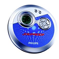 AX3311/07  Portable CD Player