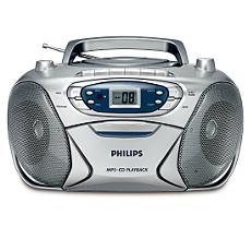 AZ1032/12 -    CD радиокасетофон
