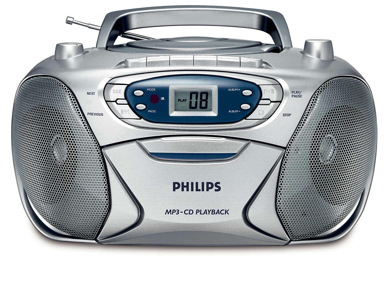 MP3-musikk med kraftig bass
