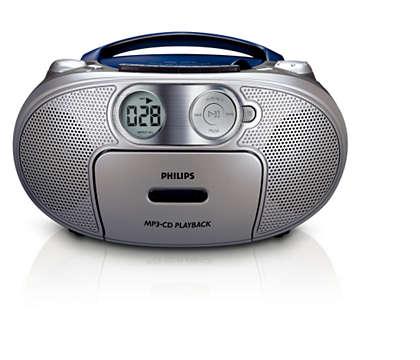 Vše vjednom, hudba ve formátu MP3 sbohatým basovým zvukem