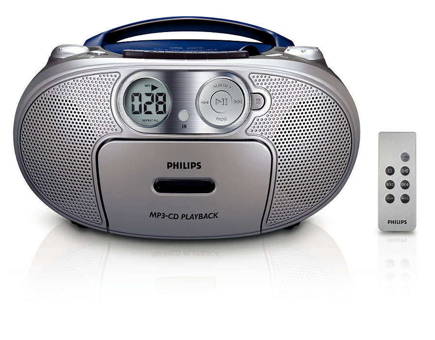 All-in-one, MP3 music with enriched bass