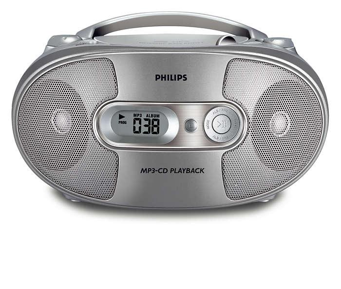Όλα σε ένα, μουσική από MP3 με πλούσιο ήχο μπάσων