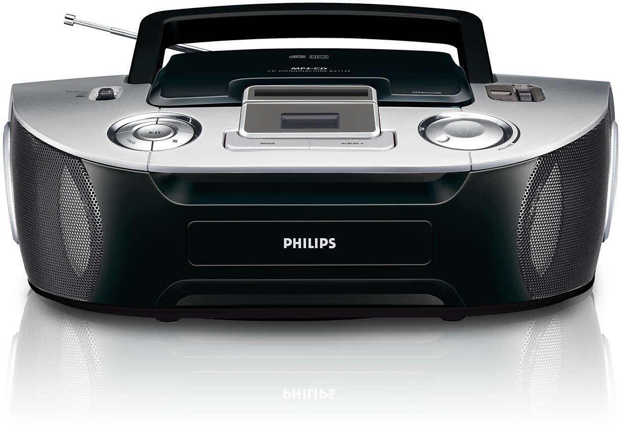 Reproducción de MP3-CD todo en uno