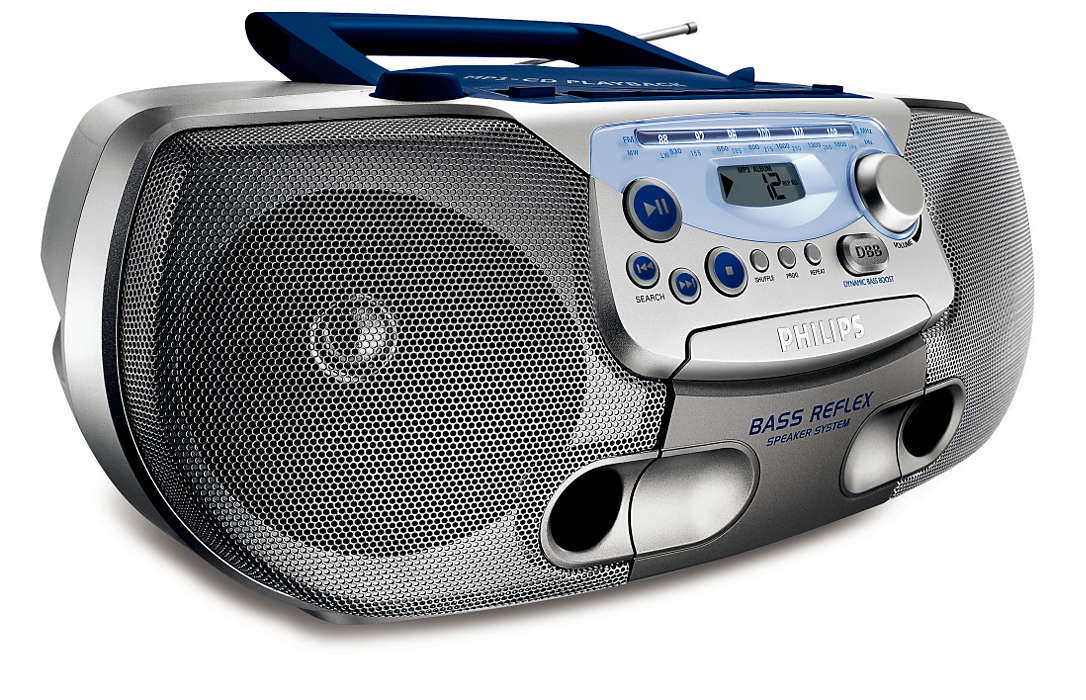 alles-in-een, MP3-muziek met een dieper basgeluid