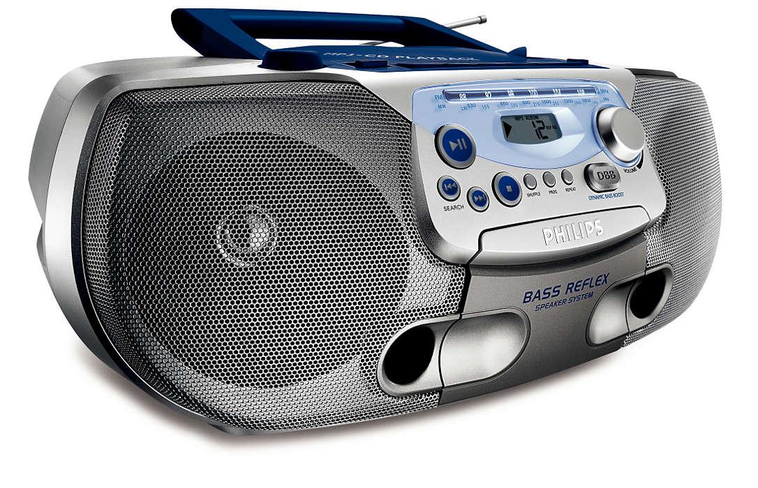 Все-в-одном - музыка MP3 с улучшенными низкими частотами