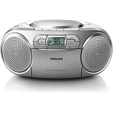 AZ127/12 -    CD-Soundmachine mit Kassette und Radio