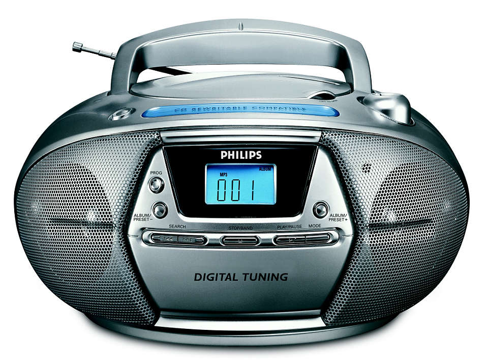 Play MP3 music and digital tuning